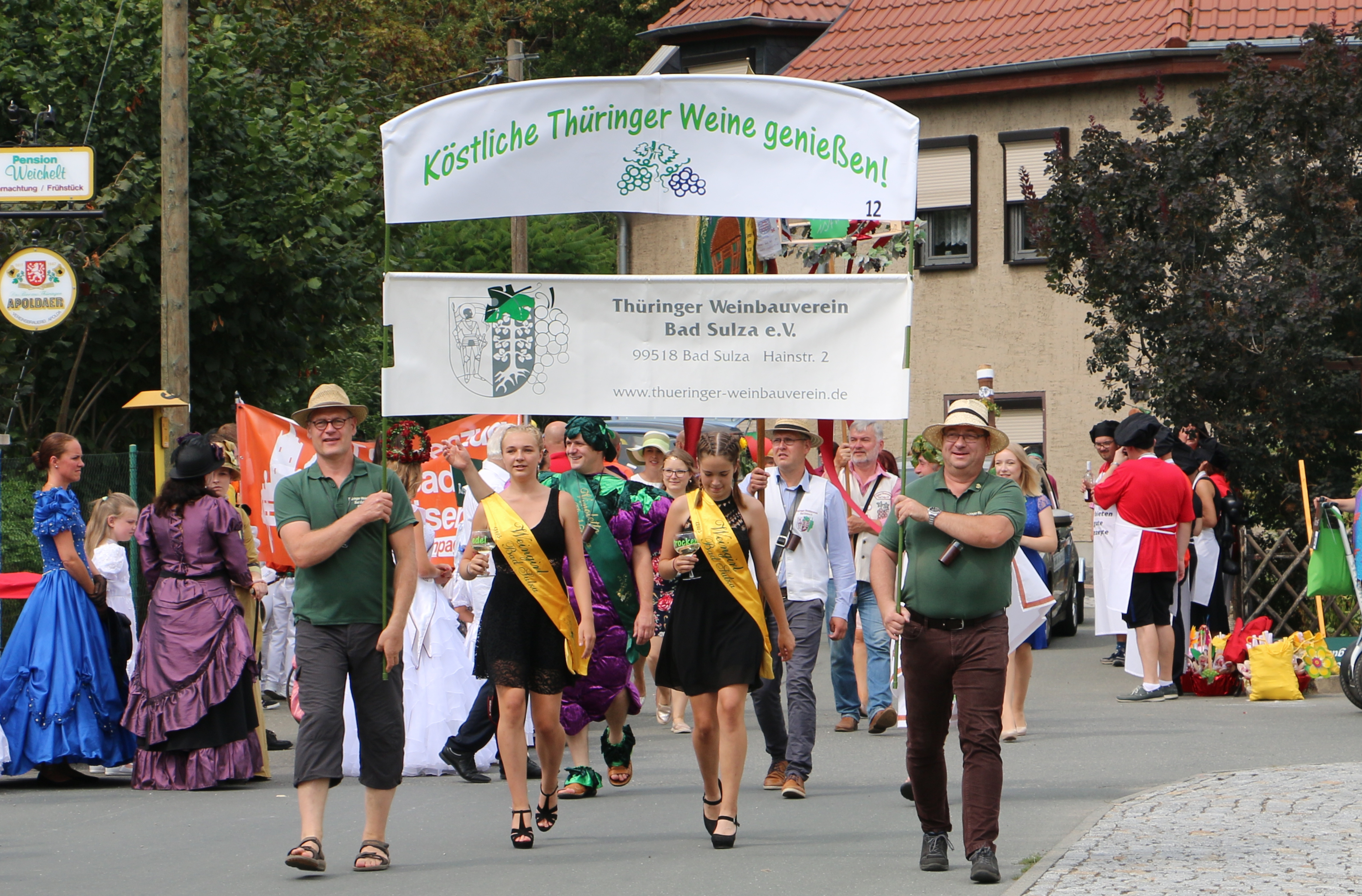 Mehr Informationen zu: Weinfest in Bad Sulza